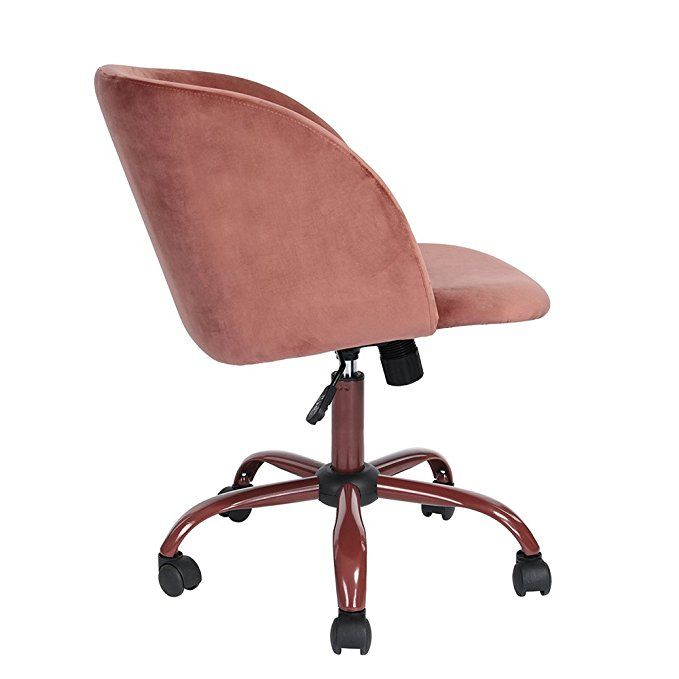 amazon com eggree mid back swivel adjustable home office chair rh pinterest com