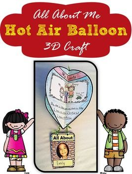 Hot air balloon all about me