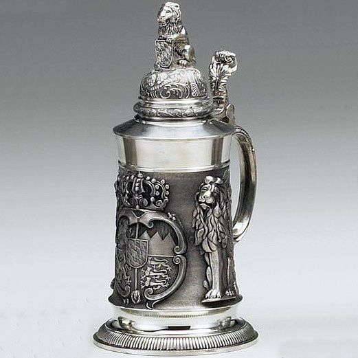 Bavarian Lion Stein | fantasy middle ages | Pinterest ...