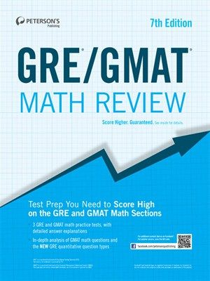 GRE GMAT Math Review By Peterson S Peterson S GRE GMAT
