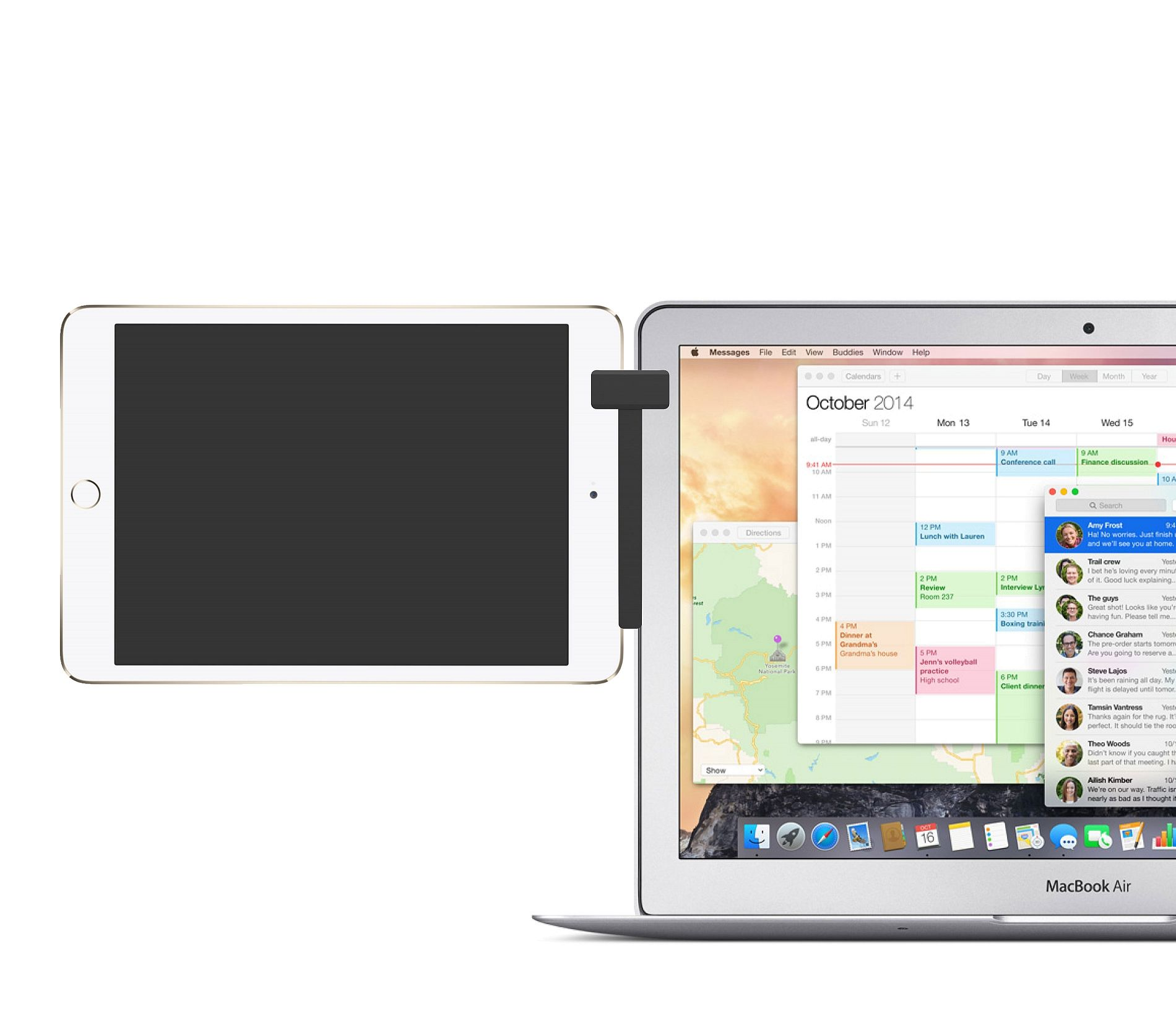 Mountie Connecting Your Mobile Device To Your Laptop Mountie Ipad Accessories Apple Os