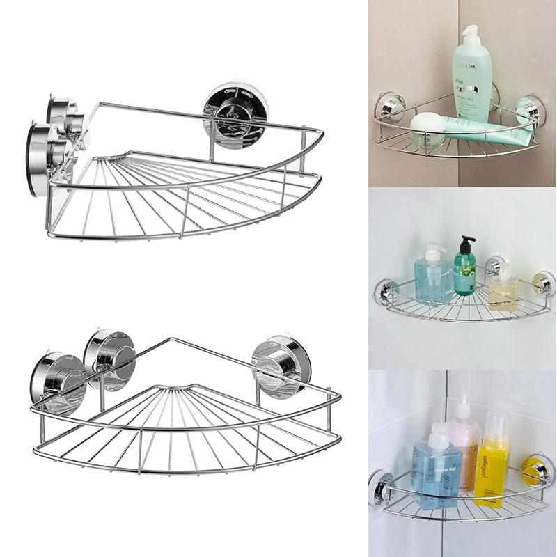 bath shelf shower caddy with strong suction cups rustproof stainless rh pinterest com