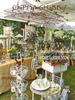 Chippy Shabby Booth Northwind Perennial Farm Burlington