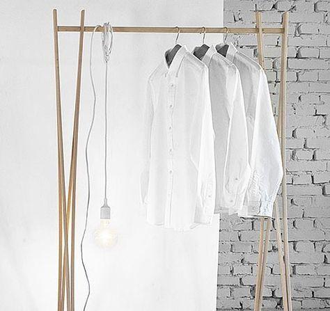 Egal ob Standgarderobe, Kleiderständer oder Handtuchhalter, die - designer kleiderstander buchenholz