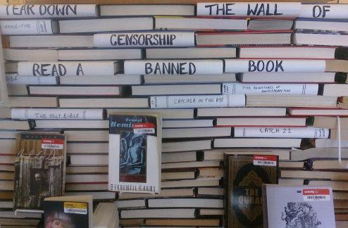 Tear down the wall Books, Library displays, Trending topics