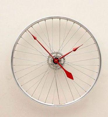 17 Geniales Ideas Para Reutilizar Una Rueda De Bicicleta