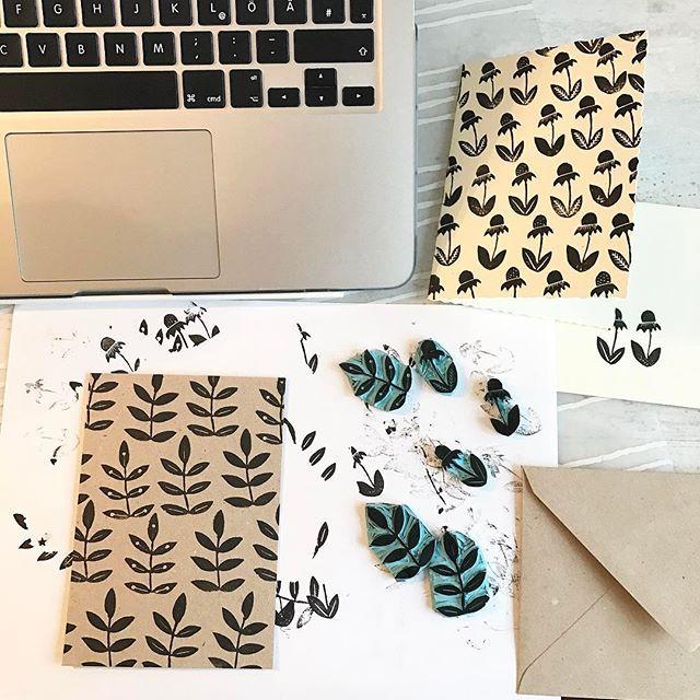 stempel schnitzen karten machen jemandes geburtstag feiern hand carved stamps. Black Bedroom Furniture Sets. Home Design Ideas