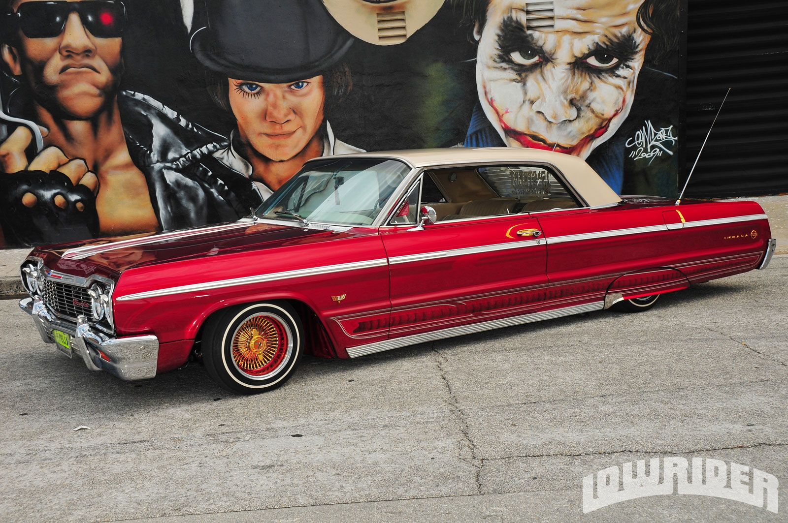 Check out 25th street riders member carlos cruz s 1964 chevrolet impala ss carlos s impala is