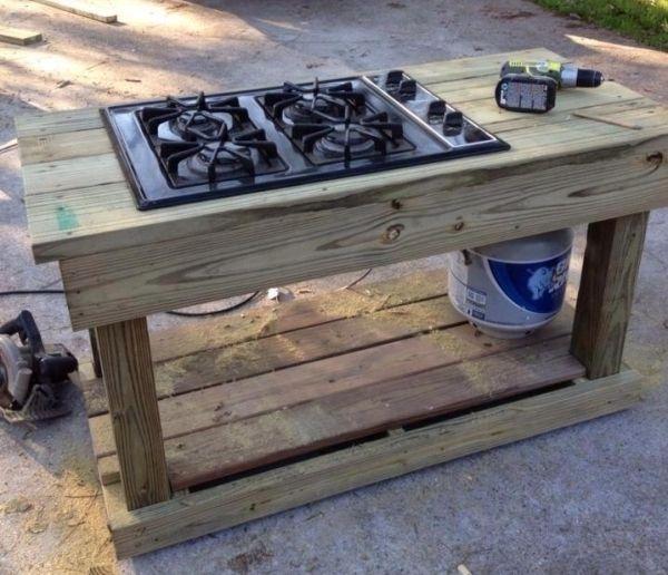 Cooking In The Garden Outdoor Kitchen Outdoor Stove Wood