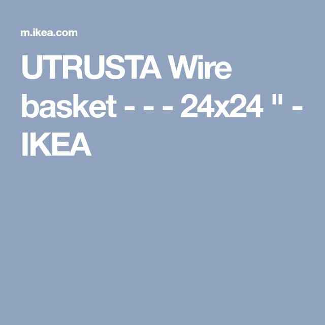 Utrusta | Wire basket