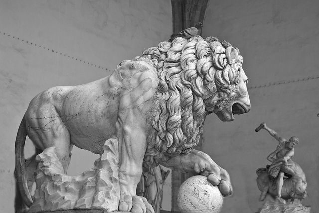 Medici lions  - chapter 34
