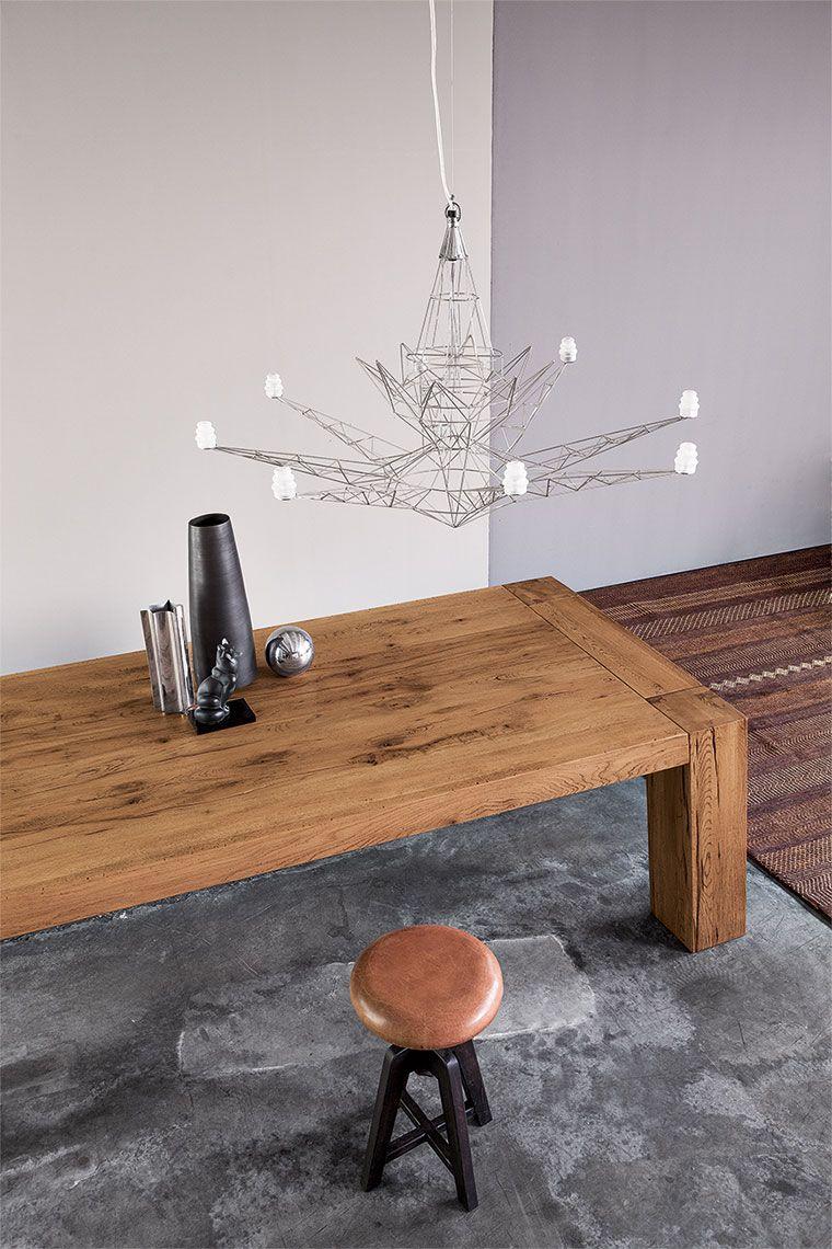 BROOKLYN by Devina Nais Tavolo rettangolare in legno massello in ...