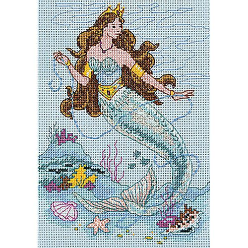 Dimensions Cross Stitch Patterns Free | Dimensions The Mermaid Mini