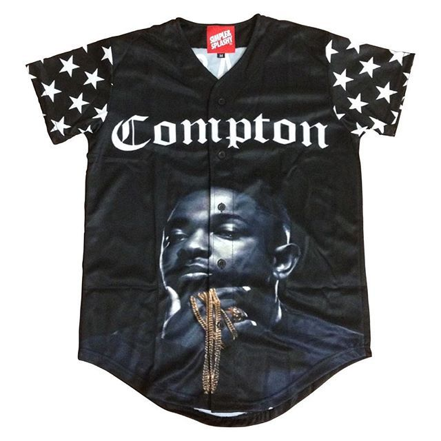 Swag On Instagram Preorder The Simpleandsplashy Compton Jersey Today At Simpleandsplashy Com Tag A Friend Who Would Like This And Be Shirts Compton Clothes