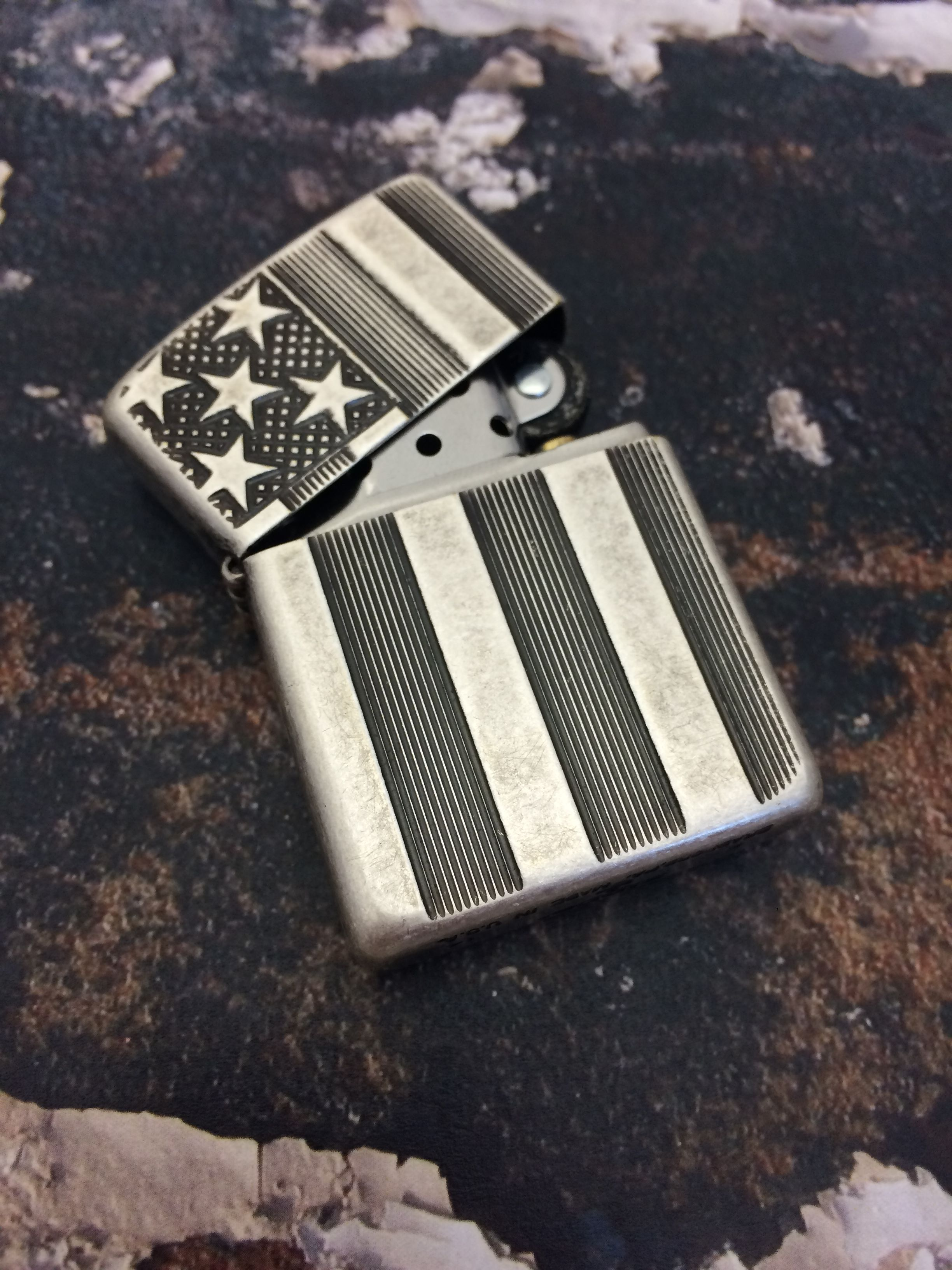 Flag Armor Zippo Armor Zippo Lighter Cool Lighters