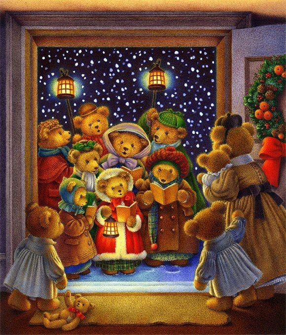 Делать, открытка рождественские колядки