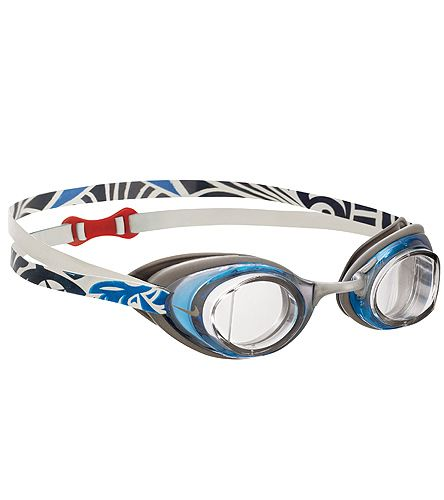Featuring over-sized Silicone gaskets and a dual head-strap design, these goggles will stay comfortable and sealed over long training sessions in the pool.  (http://www.swimoutlet.com/product_p/16383.htm?color=213)