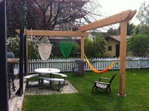 Hammock And Hammock Chair Pergola Custom Backyard Backyard Hammock Backyard Pergola