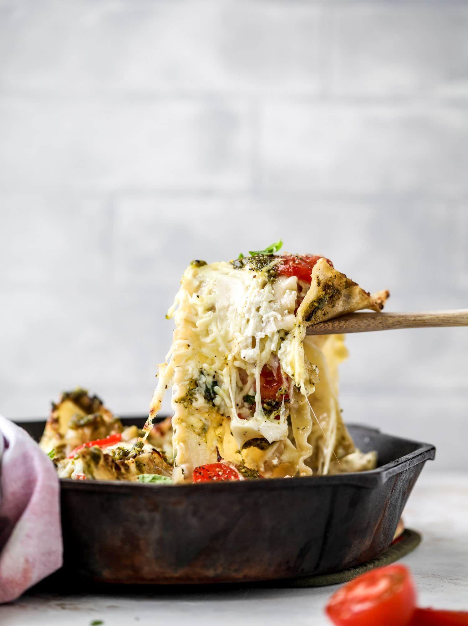 Caprese Skillet Lasagna images