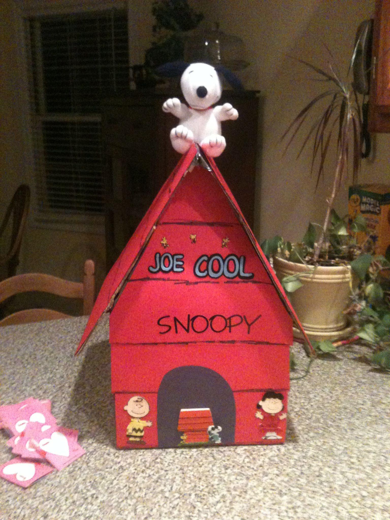 Snoopy Valentineu0027s Box