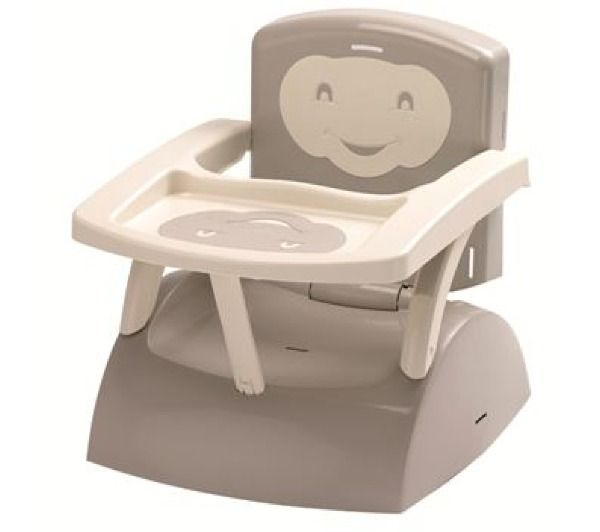 Thermobaby Rehausseur De Chaise Bebe Thermobaby Gris Ivoire Au
