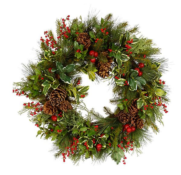 One Kings Lane - Holiday in the Country - 27\ - christmas wreath decorations