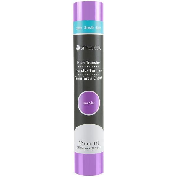 Silhouette Smooth Heat Transfer - Lavender - Swing Design