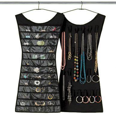 Little Black Dress Hanging Jewelry OrganizerIm SEW making this