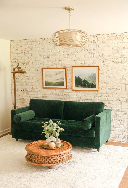 Best Diy Brick Wall Studio Brick Wall Bedroom Guest Bedroom 640 x 480