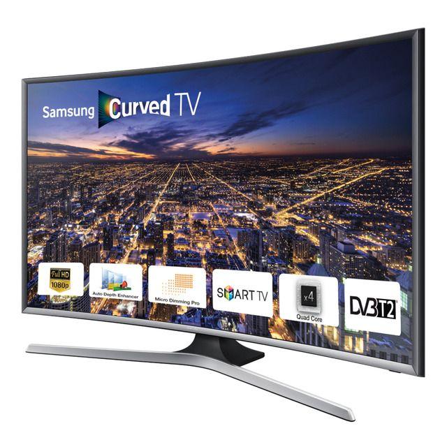 Tv Led Curvo 32 Samsung Ue32j6300 Full Hd Wi Fi Y Smart Tv