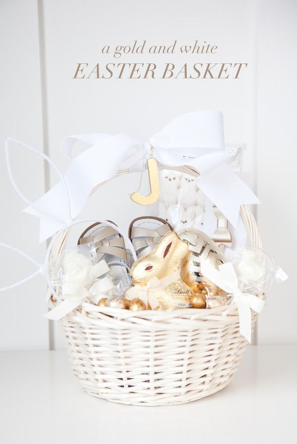 Boxwood clippings a gold and white easter basket boxwood help the easter bunny fill baskets with a quick tutorial from boxwood clippings on how to make chocolate easter lollipops negle Image collections