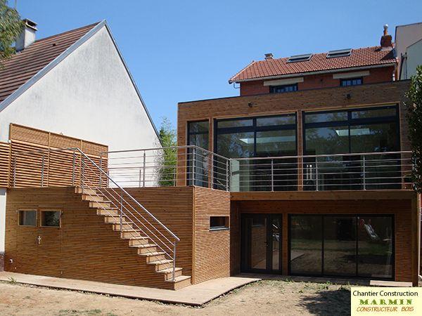 Maison bois en kit kit ossature bois auto-construction maison