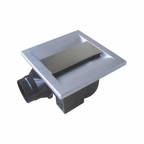 Ceiling Mount Exhaust Fan 250mm Matte Sliver Fan Bathroom Ceiling