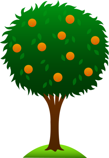 free clip art of a cute orange tree sweet clip art pinterest rh pinterest com free clipart corn field free clipart corn field
