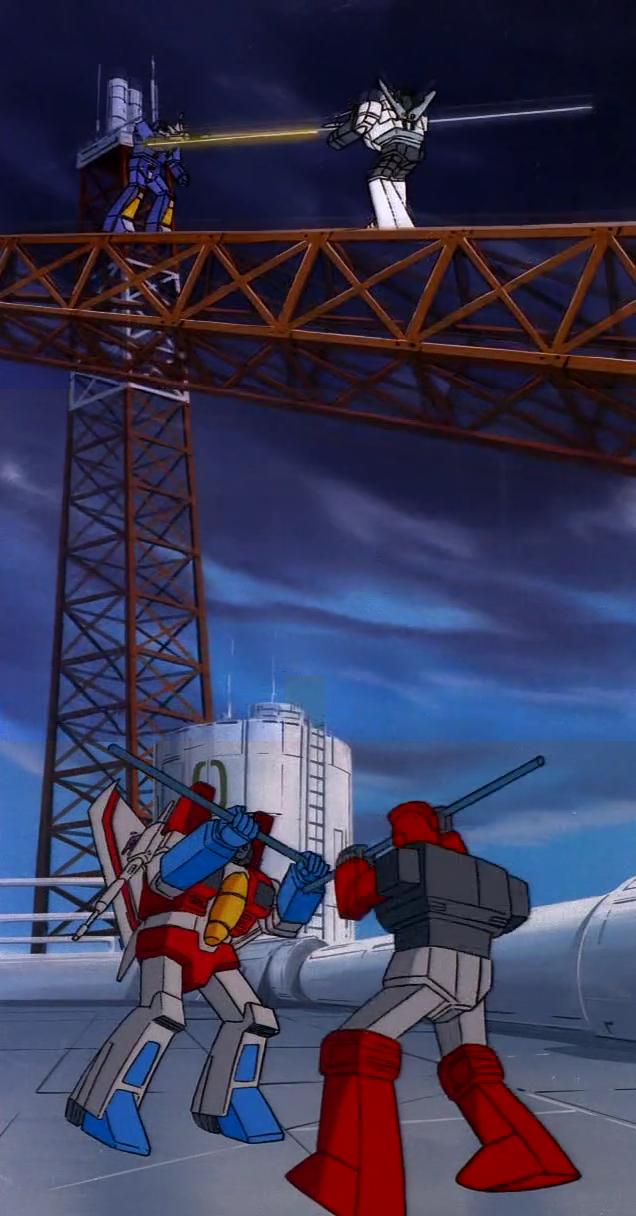 transformers g1 rumble vs wheeljack and starscream vs