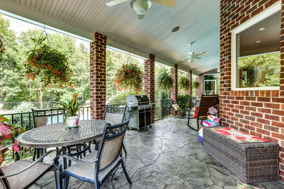 Beautiful veranda! 1921 Huguenot Springs Road $1.79 million. For info: Susan Stynes 804-822-5324