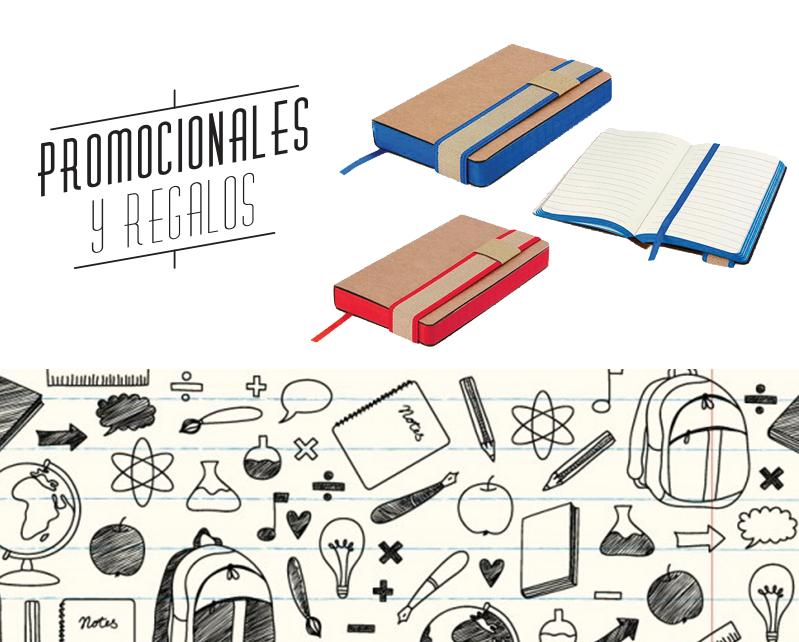 libretas cartón, ecofriendly Promocionales y regalos.