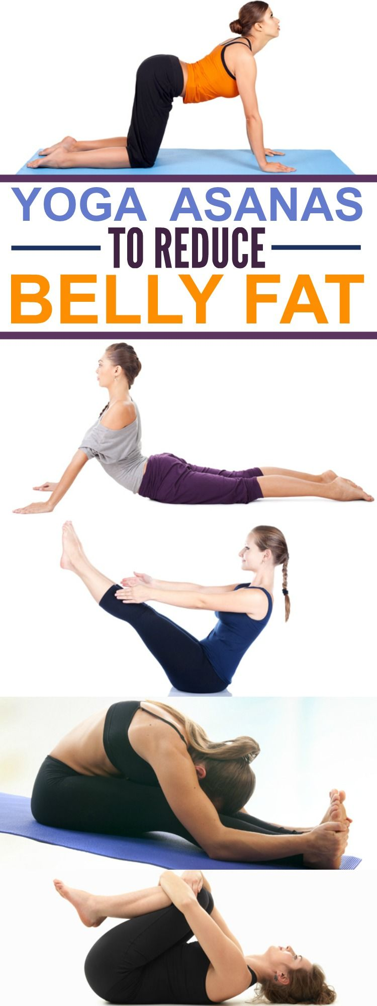 Yoga poses for reducing belly fat