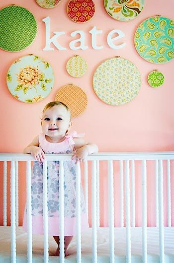 Vila do Artesão - Bastidores para decorar o quarto do bebê. Decoração estimulante.