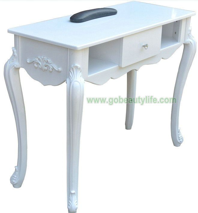 Beauty equipment salon furniture manicure nail art table for Beauty manicure table
