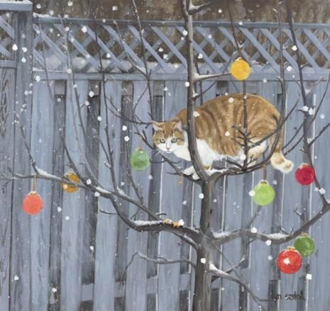 And a Partridge in a Pear Tree.  Lyn Estall