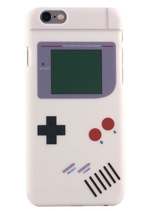 buy popular f2af6 19a03 Game Boy Retro Case for iPhone 6 Plus - White Model | iphone ...