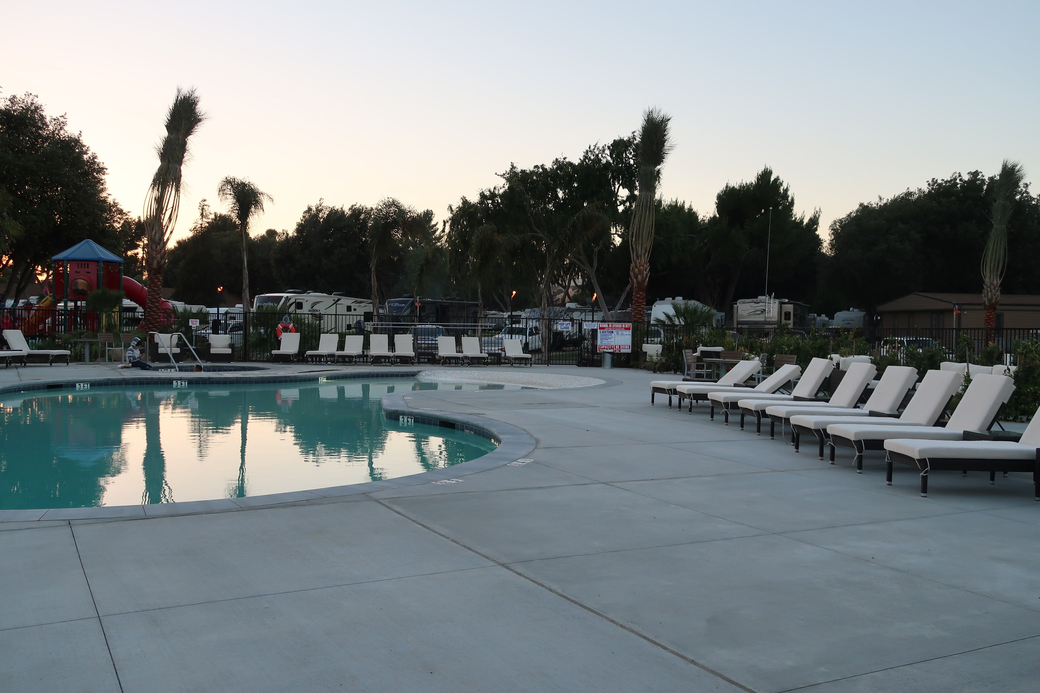 Ff Has Two Great Pools For Their Guests Lots Of Seating And There S Even Bocce Ball For Those Who Like Games Flyingflagsbuelton Flyi California Pool Resort