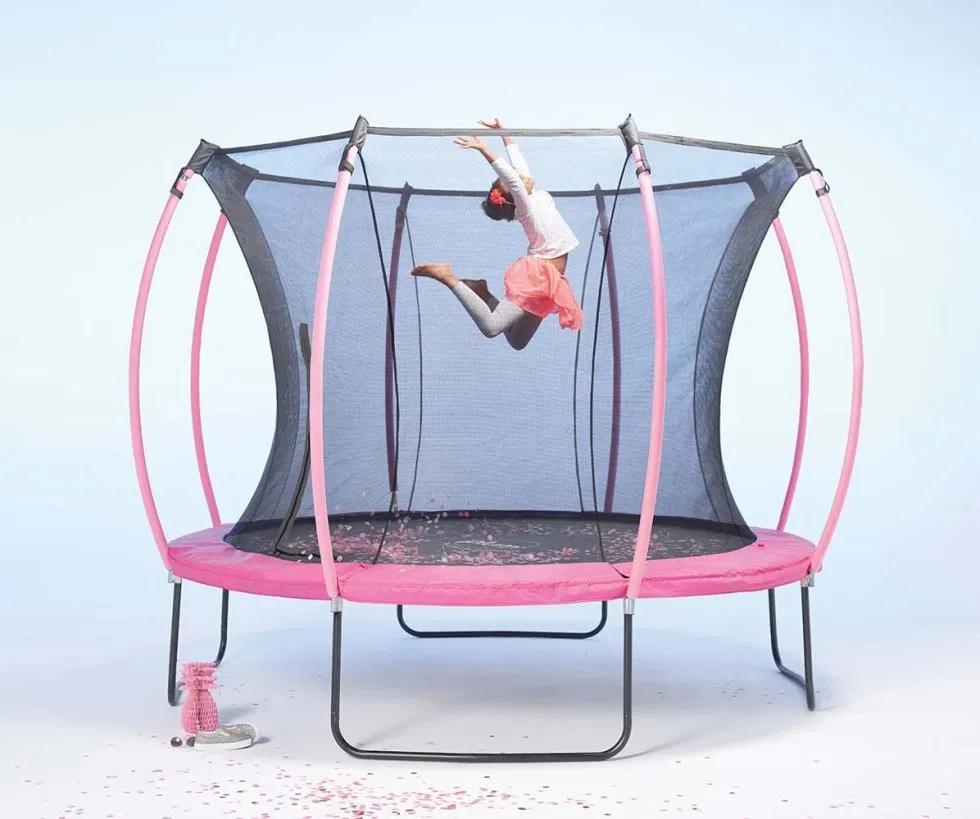 Cama Elástica Infantil Reversible De 244cm Playwel 77730266 Ociofun Cama Elastica Coche Para Niños Camas