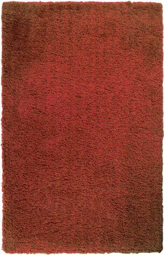 5' x 7' Rectangle Burnt Orange Oscar Isberian Rugs Plush Area Rug Made In China. Hand Woven. Rectangle Shape. Plush Style.  #OscarIsberianRugs #Home
