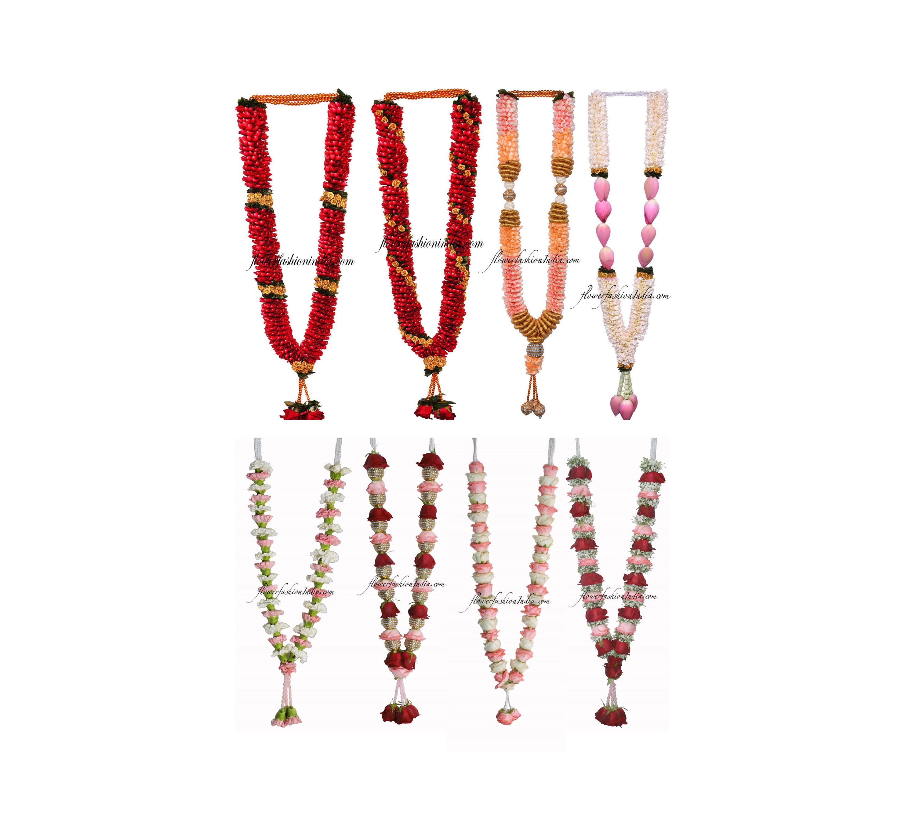 Wedding Garland Online Buy Now On Exciting Inaugural Offer 50 Off  1000Rs Flat Off On All Garland Customized Wedding Garland On Call Now 9844066060 For Customizing Your W...