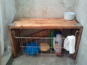 Breakfast For Dinner Diy Shower Bench Diy Shower Shower Bench Diy Bathroom