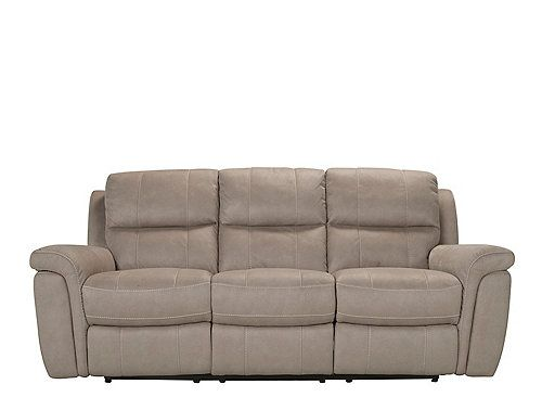 Sofa Beds Everyone in the family will love this Dwyer microfiber power reclining sofa Each padded