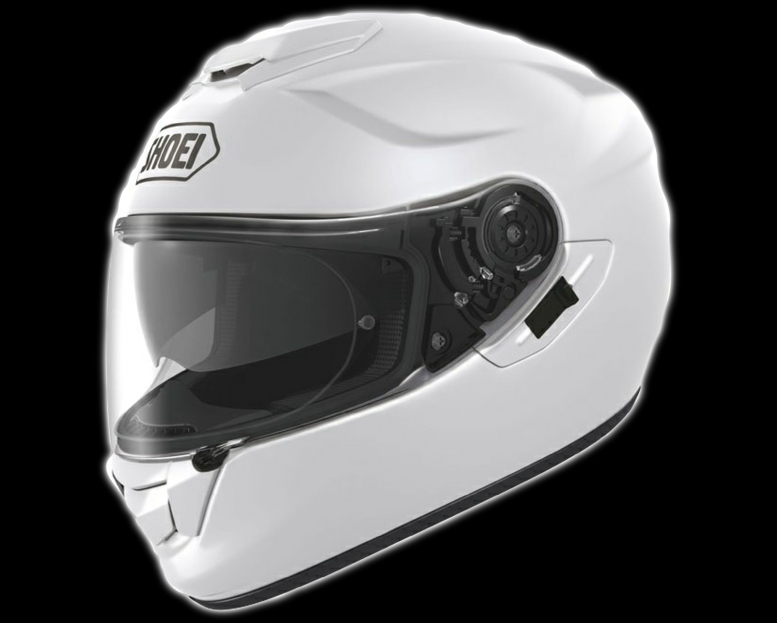 Shoei GTAir White Helmet White Shoei GTAIR GTair
