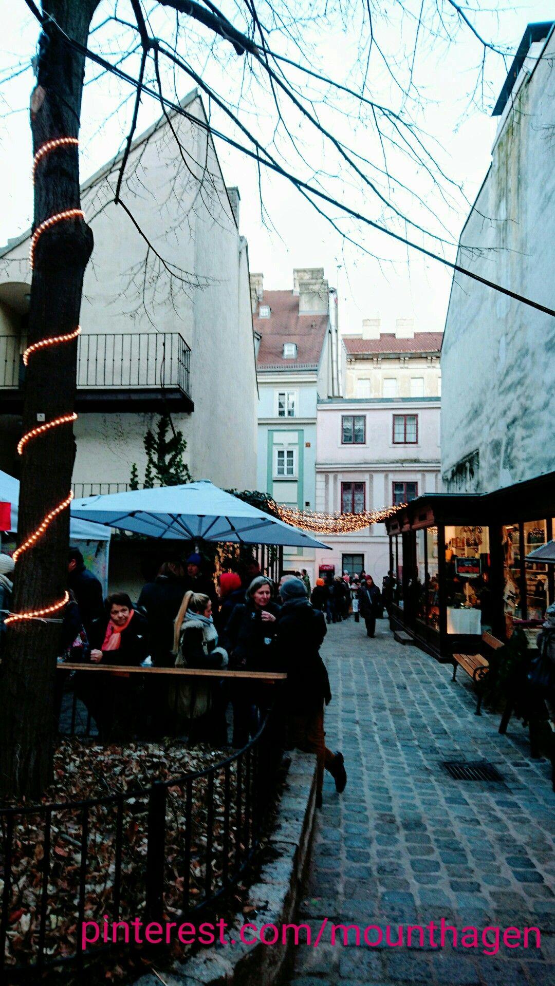 Christmas Market Spittelberg In Vienna Austria Osterreich Wien